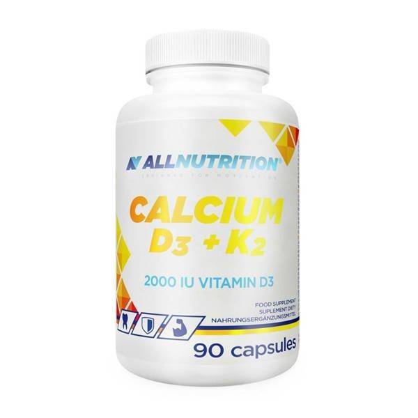 Allnutrition Calcium D3 + K2 for Proper Functioning of Muscles 90 Capsules
