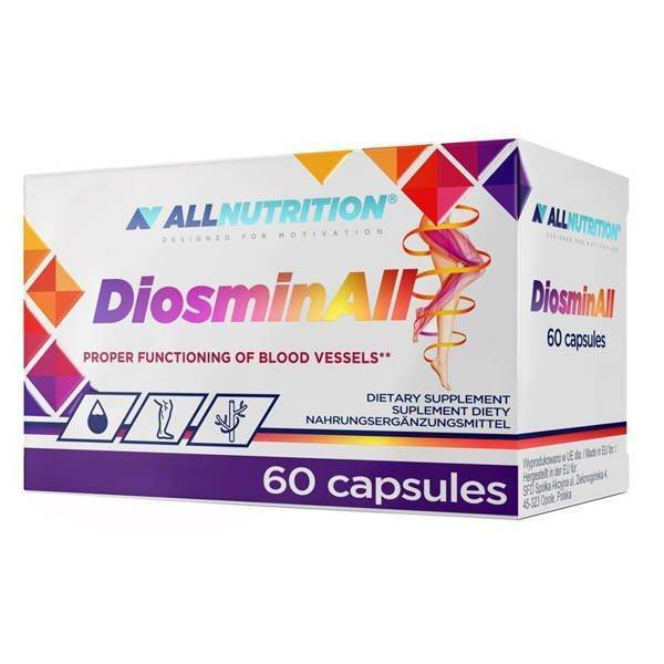 Allnutrition Diosminall for Proper Functioning of Blood Vessels 60 Capsules