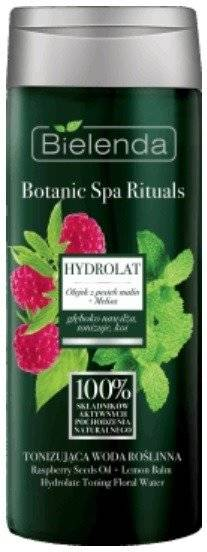Bielenda Botanic Spa Rituals Toning Plant Water Raspberry Seed Oil Melissa 200ml