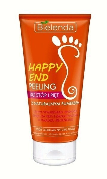 Bielenda Happy End Foot and Heel Peeling with Natural Pumice 125G