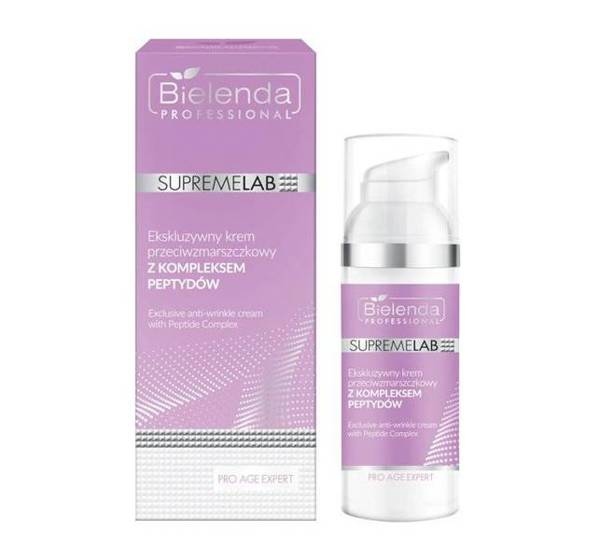 Bielenda Professional Supremelab Pro Age Expert Exclusive Anti-Wrinkle Cream with Peptide Complex 50ml
