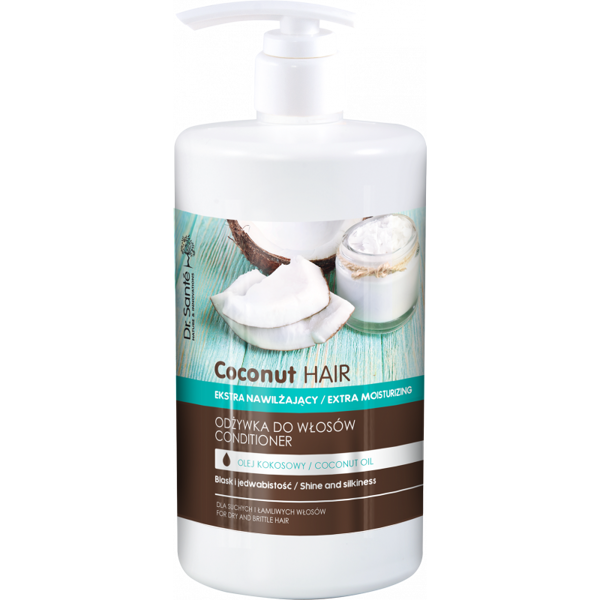 Dr. Sante. Coconut Hair Conditioner for Hair with Coconut Oil 1000 ml