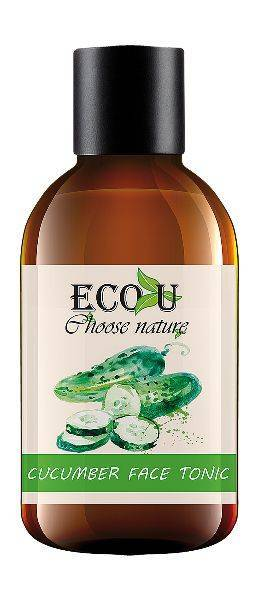EcoU Cucumber Face Tonic Soothing Irritated Skin for Problematic and Normal Skin 200ml