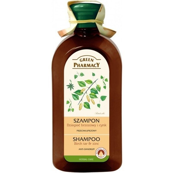 Green Pharmacy Anti-Dandruff Shampoo Tar Birch Zinc 350ml
