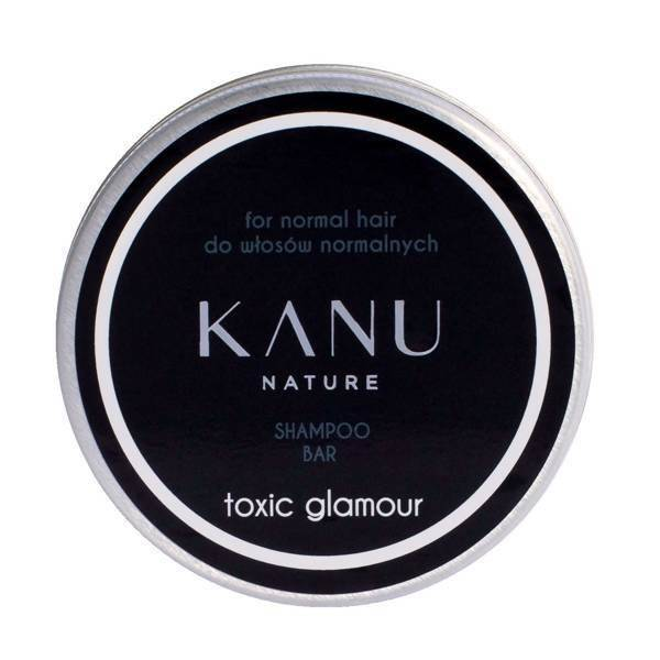 Kanu Nature Shampoo Bar for Normal Hair Toxic Glamour in Metal Box 75g