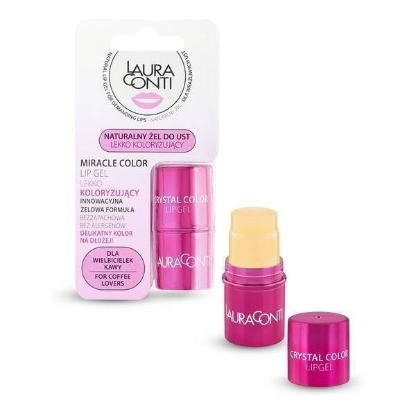 Laura Conti Miracle Colour Natural Lip Gel Slightly Tinted 5,5g