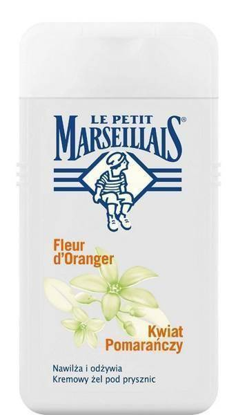 Le Petit Marseillais Refreshing Moisturizing Cream Shower Gel with Orange Flower 250ml