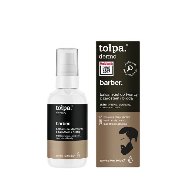 Tołpa Dermo Barber Facial Gel with Facial Hair and Beard 75ml