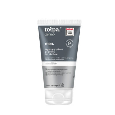 Tołpa Dermo Men Sensitive Soothing Aftershave Balm Strongly Moisturizing 125ml