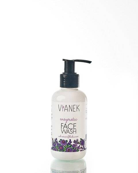 Vianek Enzymatic Face Cleansing Gel Currant Fruit Extract 150ml