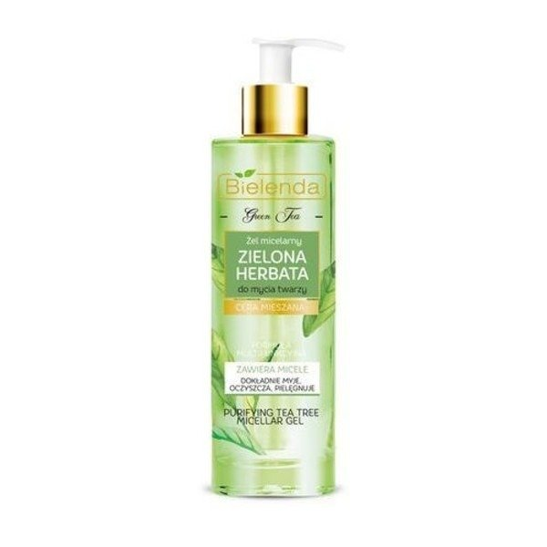 Bielenda Green Tea Micellar Gel Mixed Complexion 200 G | Cosmetics \ Face \  Makeup Removal and Cleansing | Tytuł sklepu zmienisz w dziale MODERACJA \  SEO